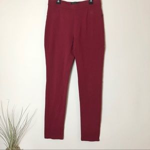Sanctuary Red Pull On Pants